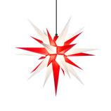 Herrnhuter Stern A7 für Außen 68 cm weiß/rot