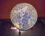 Formano Mosaikkugel Leuchtkugel silber 20 cm