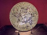Formano Mosaikkugel Leuchtkugel silber 25 cm