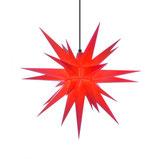 Herrnhuter Stern A7 für Außen 68 cm rot