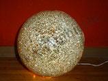 Formano Mosaikkugel Leuchtkugel champagner 20 cm