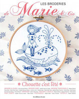 Les broderies de Marie & Cie N°15 - Chouette c'est l'été