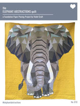 The Elephant Abstractions quilt
