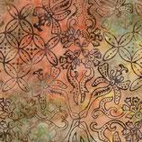 Bat_335 - Timeless Treasures - B3845 - sorbet - Tonga