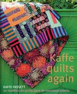 Kaffe quilts again - 20 modèles de quilts dans de nouveaux coloris