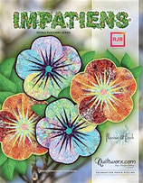 Impatiens petals placemat series