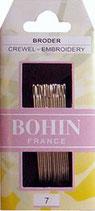 Aiguilles Bohin - Broder crewel embroidery 7