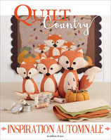 Quilt Country n°62 - Inspiration automnale