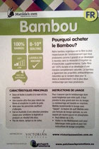 rembourrage Bambou