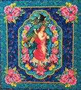 Carte Velours Ange gardien - Odile Bailloeul