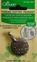 Coupe-fil style collier - antique silver