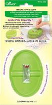 Boîte magnétique pour les épingles - vert