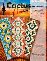 "Cactus Flower Tablerunner  (17"" x 51"")"