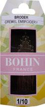 Aiguilles Bohin - Broder crewel embroidery 1/10