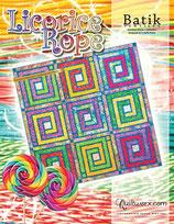 Licorice Rope - Batik textile