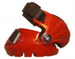 Dragon Fire Red ICE BOOTS