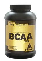 Peak BCAA Caps 220 Kapseln