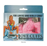 Love Cuffs pink - Handschellen