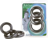 3 Rings Raving Rounders - Penis-Ring