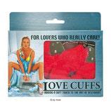Love Cuffs rot - Handschellen