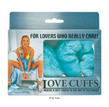 Love Cuffs türkis - Handschellen