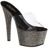 Bejeweled-701DM clr/Pew. brill. - High Heels