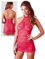 Spitzenkleid pink - Kleider