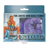 Love Cuffs violet - Handschellen