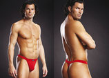 BLUE LINE Performance Microfiber Thong rot