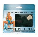 Love Cuffs schwarz - Handschellen