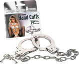 Chrome Hand Cuffs - Handschellen