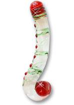 Rosenstock 21 x 3 cm - Glasdildo