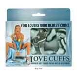 Love Cuffs zebra - Handschellen