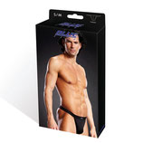 BLUE LINE Performance Microfiber Thong schwarz