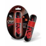 Onye Mini Dragon rot/schwarz - mini Vibrator