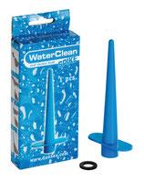 WaterClean Shower Head Spike blue