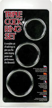 Triple Cock Ring Set - Penis-Ring