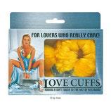 Love Cuffs gelb - Handschellen