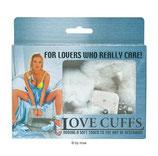 Love Cuffs weiss - Handschellen
