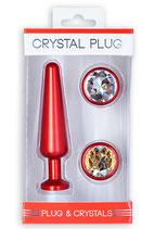 Crystal Plug Set medium