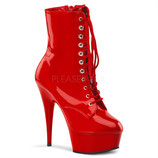 Delight-1020 red Pat/red - High Heels