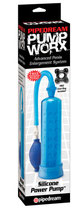Silicone Power Pump blue - Penis-Pumpe
