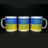 Tasse aus Keramik mit dem Biberacher Schützenlied
