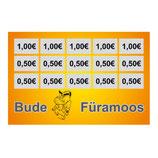 Verzehrbons / 10 Euro (Filzschreiber geeignet)