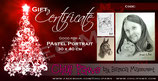 REGULAR Pastel Portrait Gift Certificate