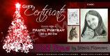 DIGITAL Pastel Portrait Gift Certificate