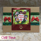 Kitty Christmas Wreath 02