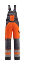 Warnschutz-Latzhose Gosford orange, Hi-Vis Gruppe Y, Klasse 2