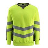 Warnschutz-Sweatshirt Wigton gelb, Hi-Vis Gruppe A, Klasse 3