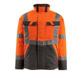 Warnschutz-Winterjacke mit Steppfutter orange, Hi-Vis Gruppe A, Klasse 3